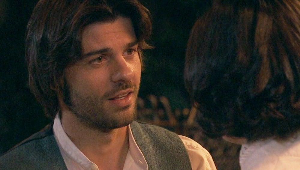 María le cuenta a Gonzalo que van a ser padres