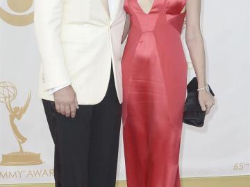 Jon Hamm y su mujer