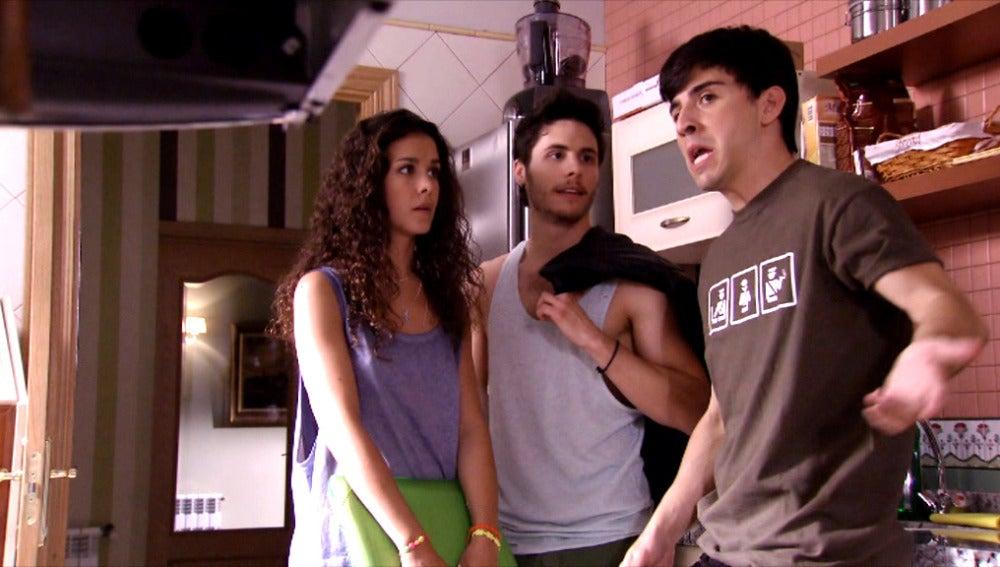 María José, Ricky y Jeco