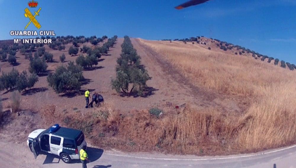 Persecución a un coche en España