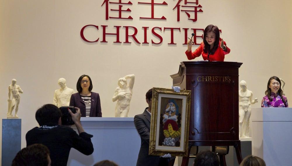 Primera subasta de Christie's en China