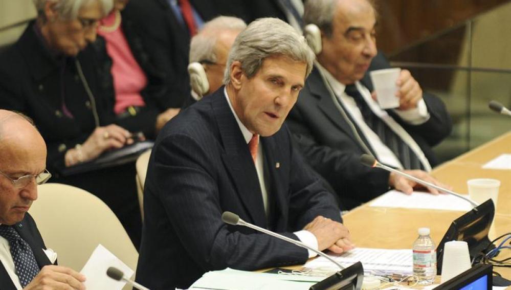 El secretario de estado de los Estados Unidos, John Kerry