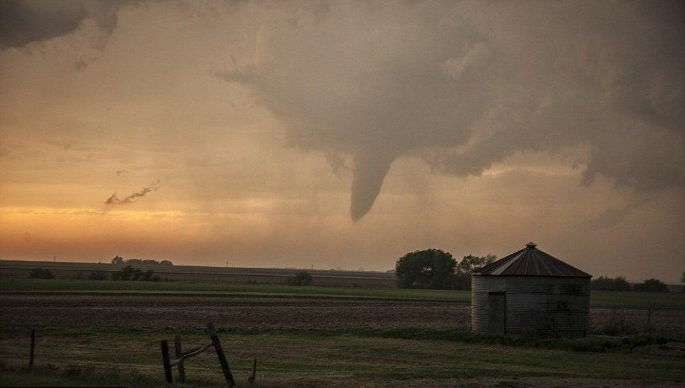 Tornado en Sanford, Kansas