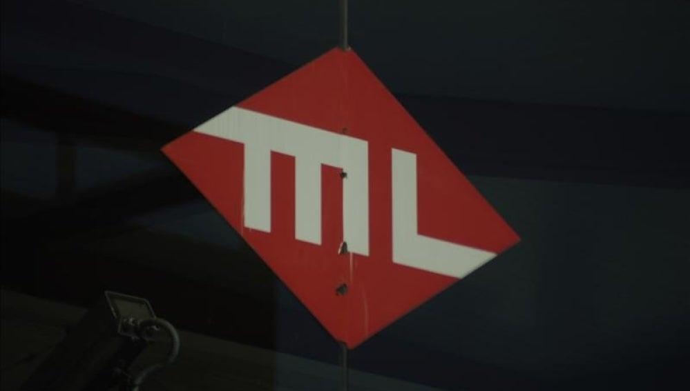 Logotipo del metro ligero.