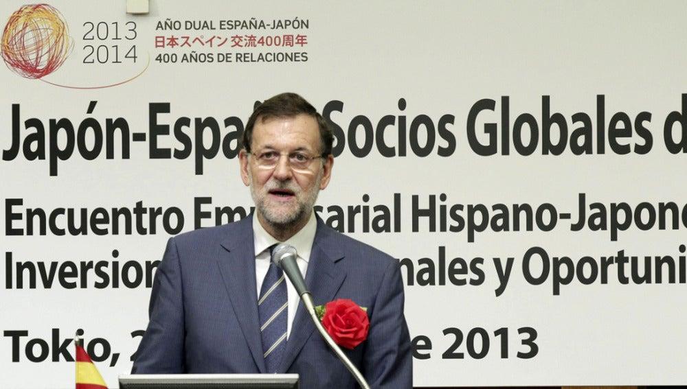 Mariano Rajoy en Japón