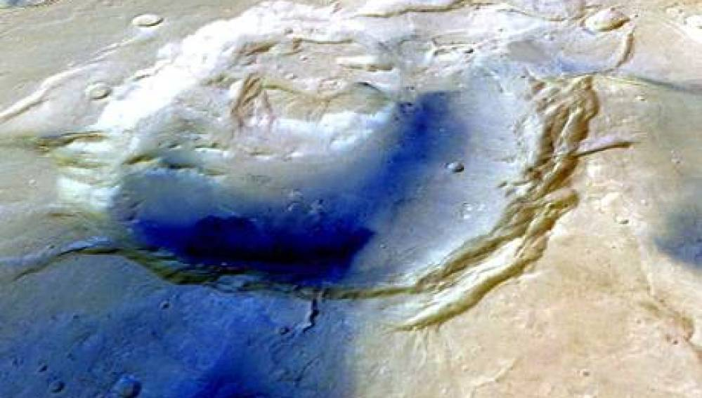 Supervolcanes en Marte