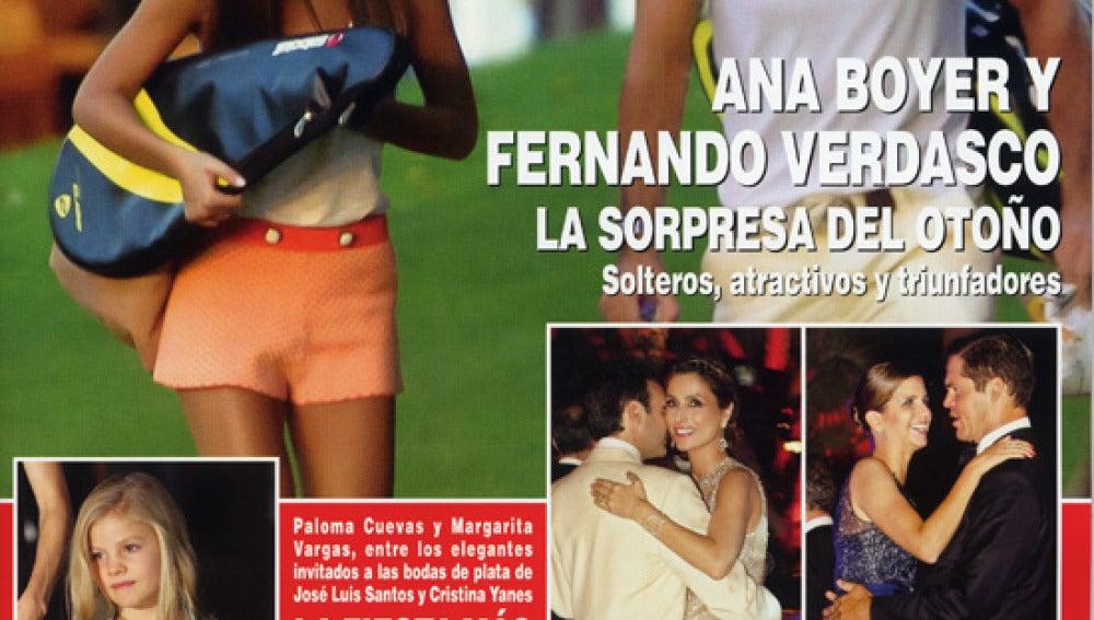 Ana Boyer y Fernando Verdasco, ¿La pareja del otoño?