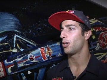 Daniel Ricciardo en Toro Rosso