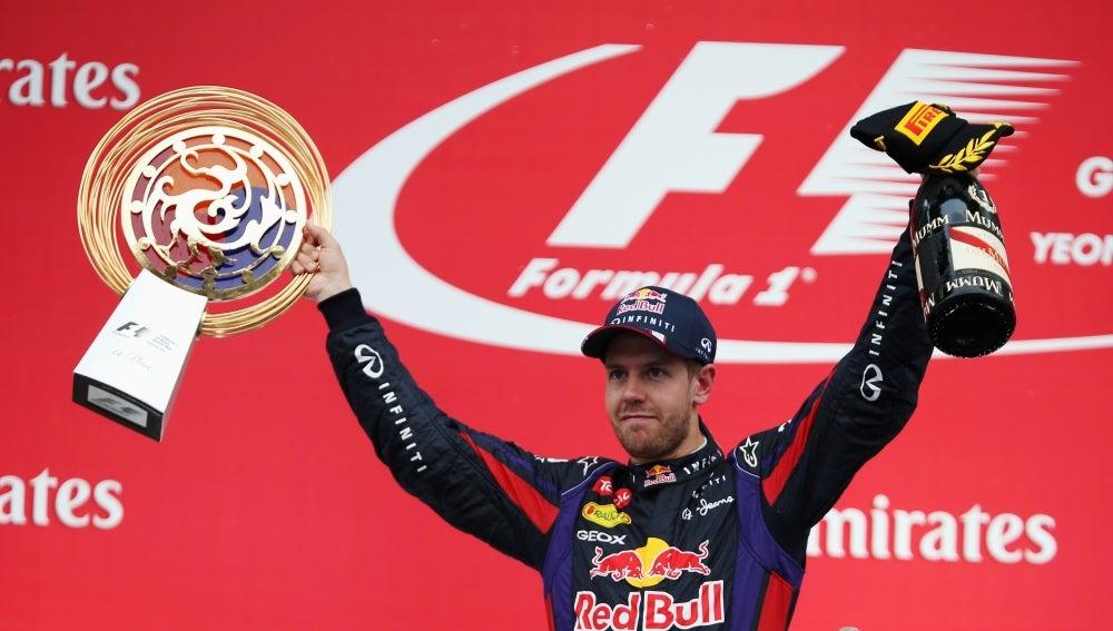 Vettel vence en Yeongam
