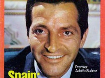 Adolfo Suárez en la portada de Time