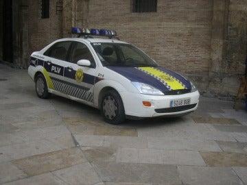 Coche de la Policía Local de Valencia