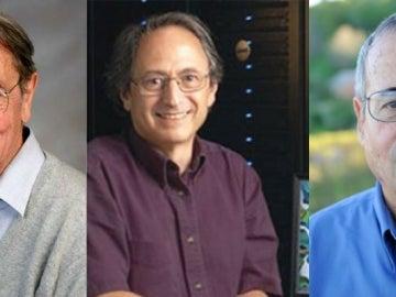 Martin Karplus, Michael Levitt y Arieh Warshel
