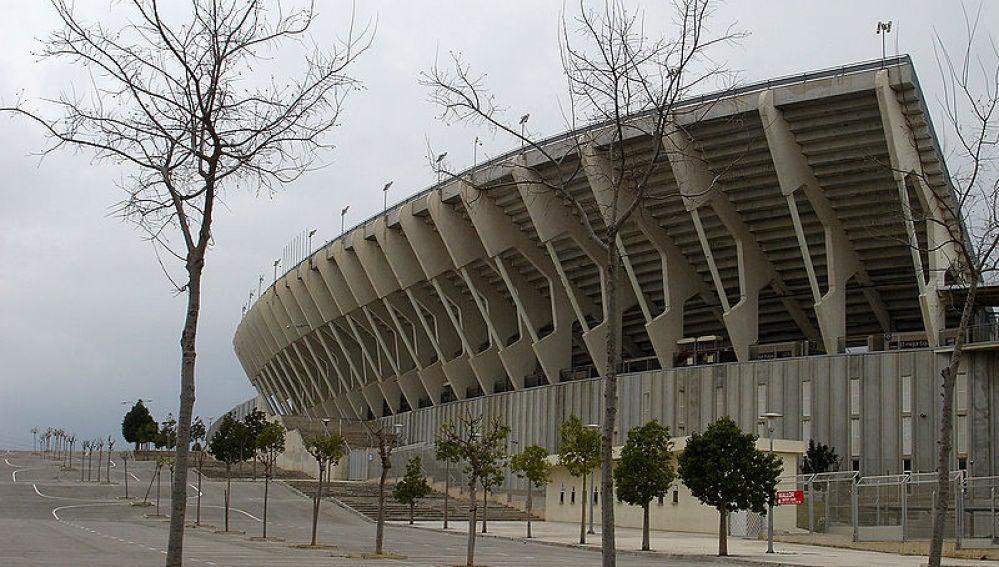 Exterior del Estadio de Son Moix en Palma