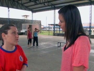 Carolina está presa en El Buen Pastor de Costa Rica
