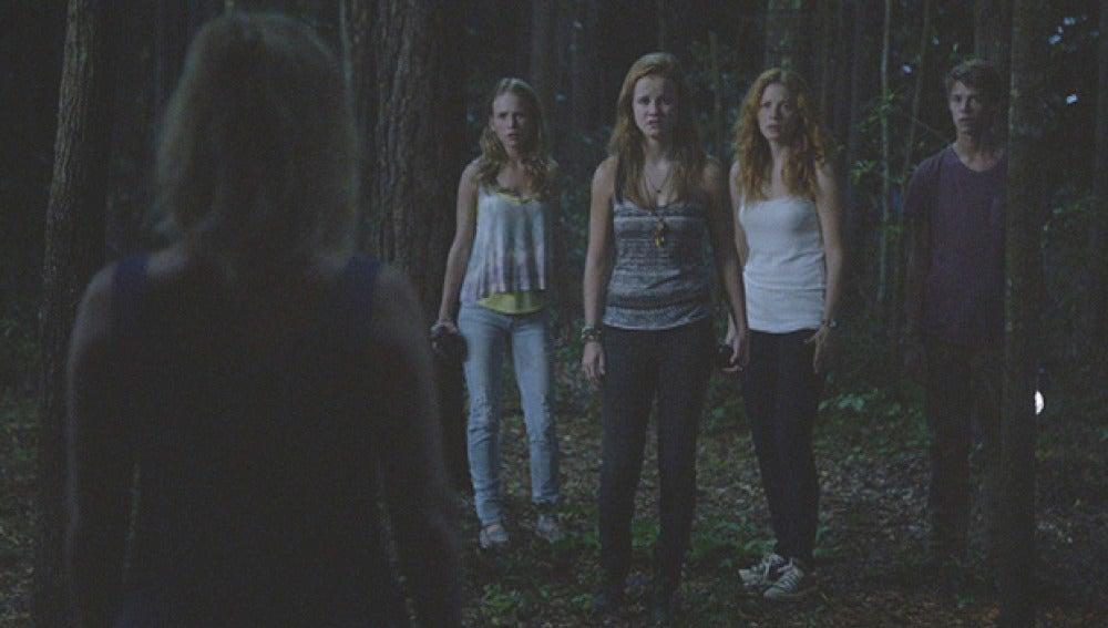Angie, Norrie, Julia y Joe