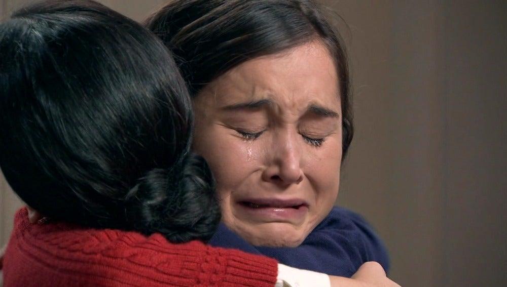 Asúnción rompe a llorar por sus problemas con Héctor