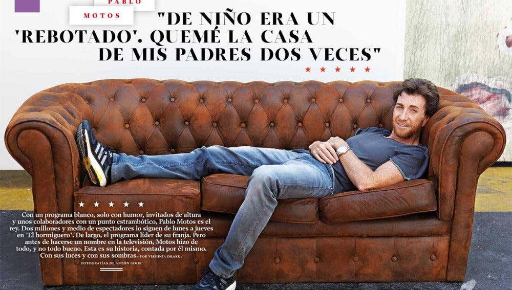 Pablo Motos en 'XL Semanal'