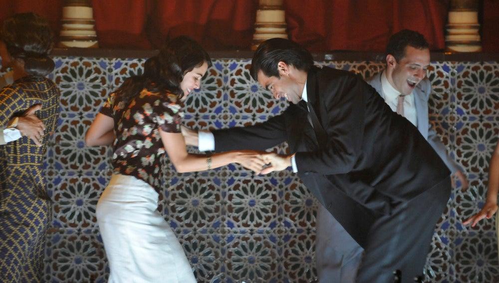 Sira baila con Ramiro