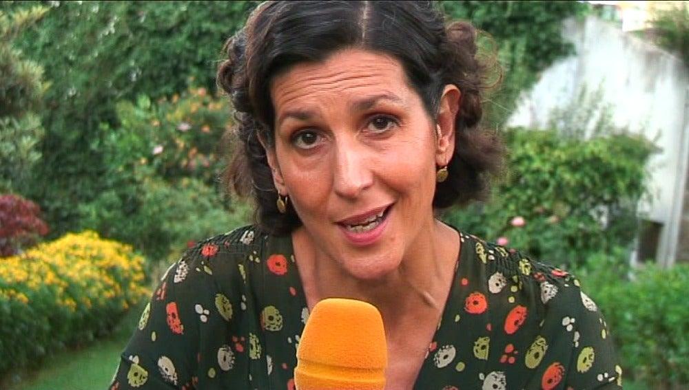 Elvira Mínguez, interpreta a Dolores en El tiempo entre costuras