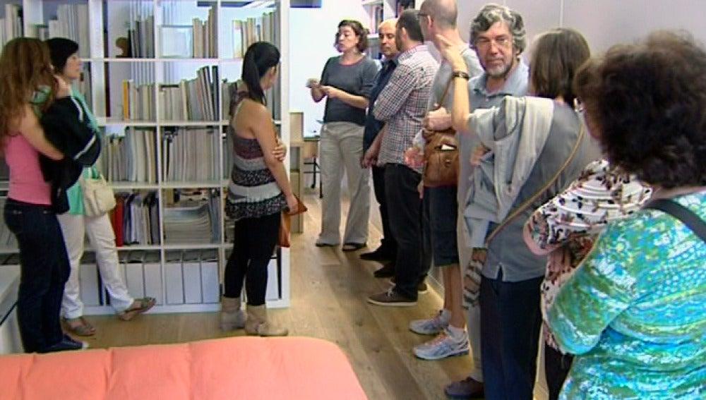 Personas disfrutando del Openhouse
