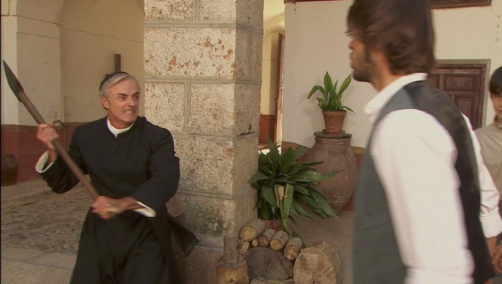 Don Celso intentará matar a Gonzalo