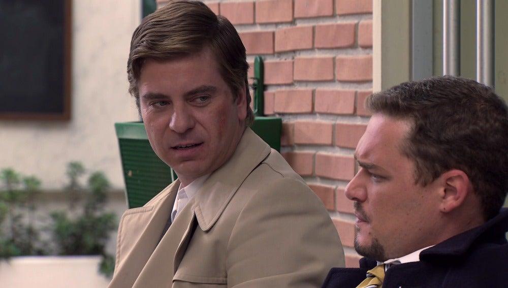 Bonilla le confiesa a Héctor que no le reconce