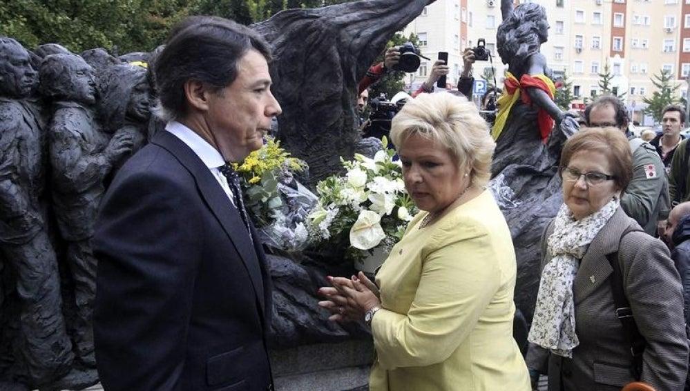 La presidenta de la AVT, Ángeles Pedraza