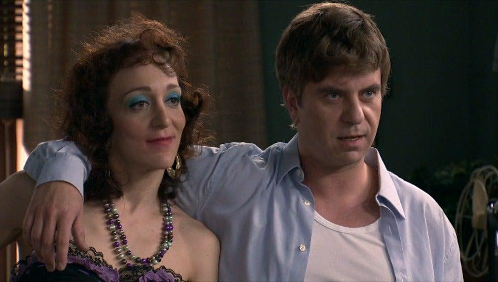 Héctor con una prostituta