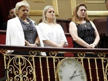 Ángeles Pedraza, María del Mar Blanco y Pilar Manjón