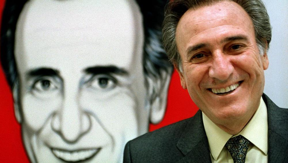 """En el año 2000 durante la presentación en Barcelona de su espectáculo """"Contemporáneo"""""""