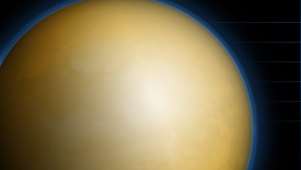 Fotografías que revelan como se formaron lagos en Titán