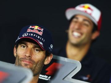 Webber, en rueda de prensa
