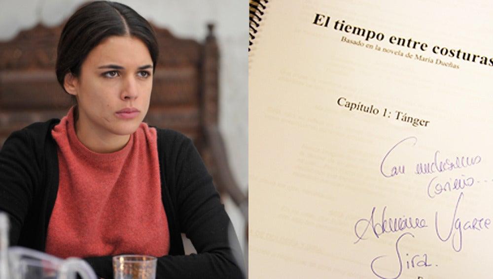 Dos guiones de 'El tiempo entre costuras' firmados por Adriana Ugarte