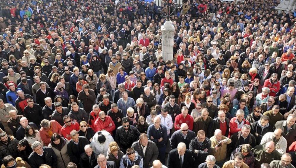 Cientos de concentrados por la tragedia en la minería en Pola Gordón