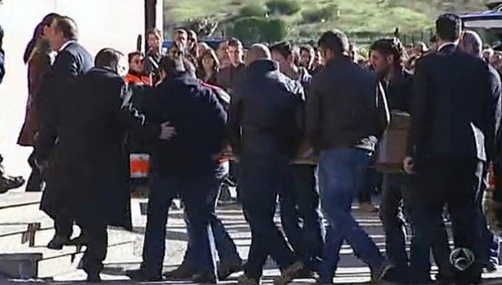 Funeral de los mineros fallecidos