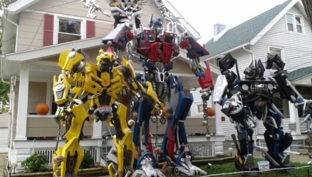 Transformers cuidan de la vivienda