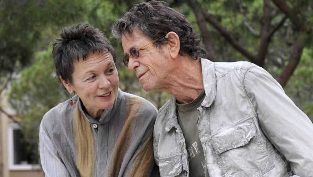 Laurie Anderson y Lou Reed