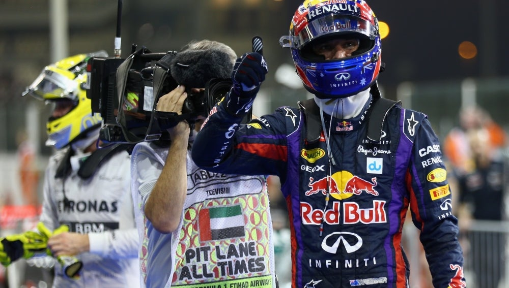 Mark Webber logra la pole en Abu Dabi