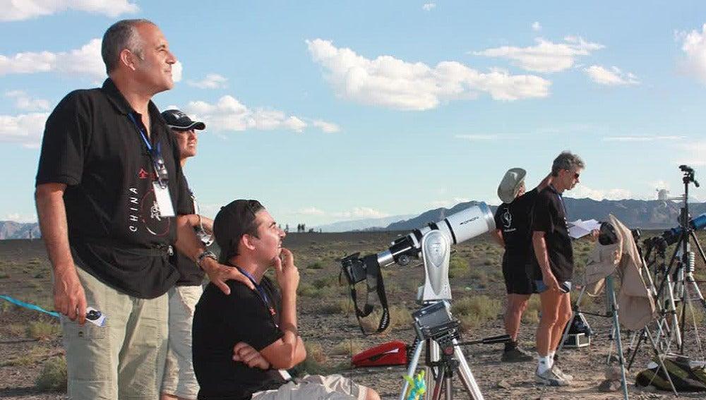Cazadores de eclipse