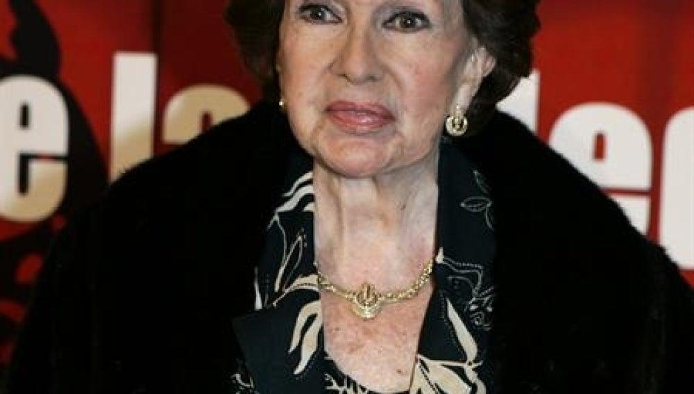 La actriz Amparo Rivelles.