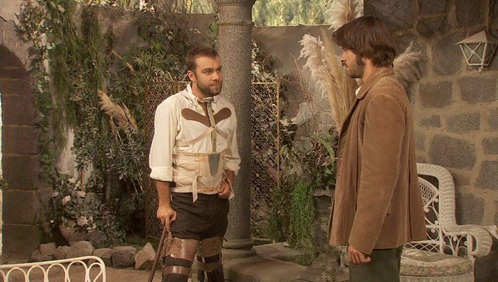 Fernando aparece inesperádamente cuando Gonzalo visita La Casona