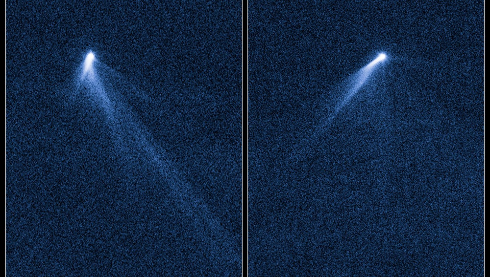 Astrónomos de Hubble hallan un objeto único en el cinturón de asteroides