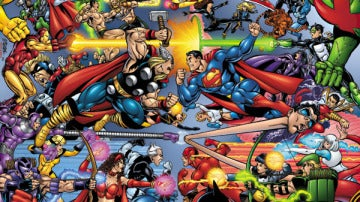 Marvel y DC se enfrentan en TV
