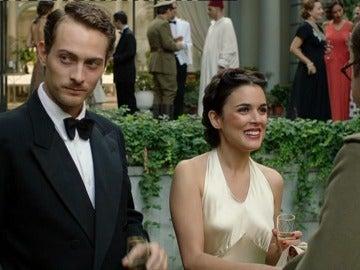 Marcus y Sira disfrutan de la fiesta