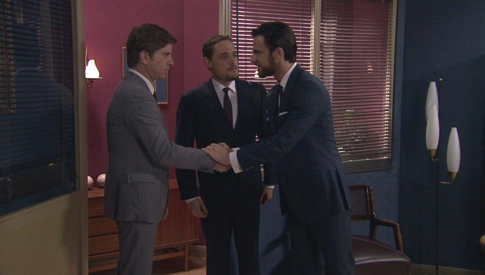 Diego, Héctor y Bonilla