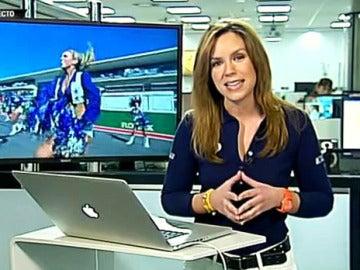 Laura Simón con las redes sociales