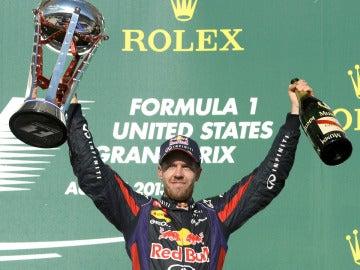 Vettel, triunfador en Austin
