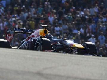 Vettel se deja ver en Austin