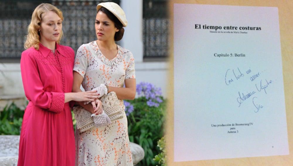 Consigue un guión del quinto capítulo firmado por Adriana Ugarte