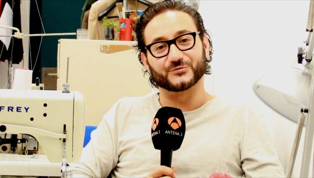 Entrevista con Carlos Santos en la sastrería